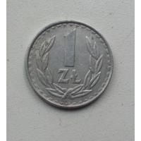 1 злотый 1985 г. Польша