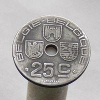 Бельгия 25 сантимов 1944