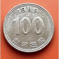 112-07 Южная Корея, 100 вон 1989 г.