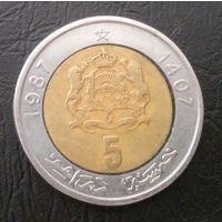 Марокко 5 дирхам