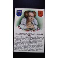 Почтовая карточка. (Валоис, жена Генриха 4).  распродажа