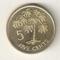 Сейшелы 5 цент 2007