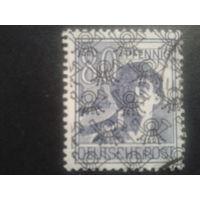 Германия 1948 надпечатка Бизония 80 пф.