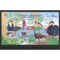 Индонезия. Фауна. Птицы. Блок