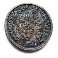Нидерланды 1/2 цента, 1928 1-11-20