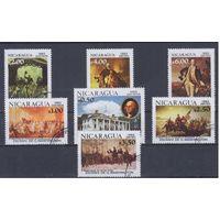 [1749] Никарагуа 1982. 200-летие Дж.Вашингтона.Живопись. Гашеная серия.