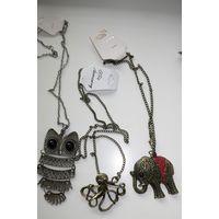 Бижутерия подвески браслеты кольца