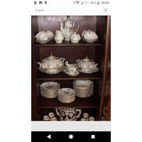 Шикарный столово-чайный сервиз на 12 персон