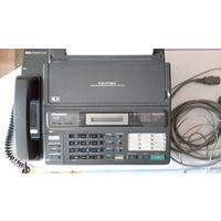 Факс-телефон panasonic kx-f130