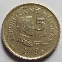 Филиппины, 5 писо 2009 г