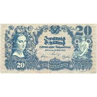 Австрия, 20 шиллингов, 1945 г. Не частые.