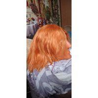 Морковный парик