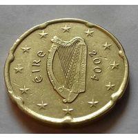 20 евроцентов, Ирландия 2004 г.