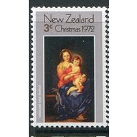 1972 Новая Зеландия религия Рождество ** Живопись