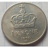 Норвегия 1 крона, 1976       ( К-6-4 )