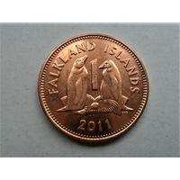 Фолклендские острова 1 цент 2011