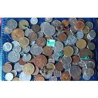 С РУБЛЯ! 100 монет, Ключики из фонтана в Швеции- бонус. Сборный лот, распродажа коллекции! (лот#2K)