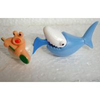 Киндер Акула и пловец