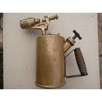 Немецкая бронзовая паяльная лампа  WW2