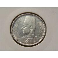 Египет. 2 пиастра 1937 год  KM#365