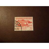 Гренландия  1972 г.Местный почтовый транспорт.