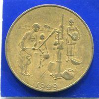 Западная Африка 10 франков 1999