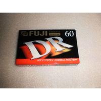 Аудиокассета FUJI DR-60. Япония.