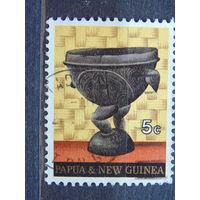 Папуа Новая-Гвинея 1970 г. Искусство.