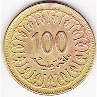 100 миллим 1997 Тунис