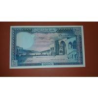 Банкнота 100 ливров Ливан 1964-1988