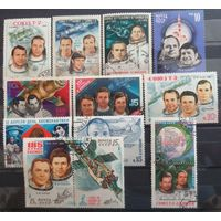 СССР-космос, сборный лот-Советские космонавты