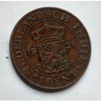 Голландская Ост-Индия 1 цент, 1929  2-13-9