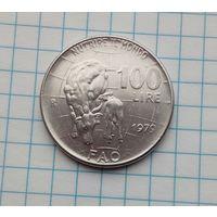 Италия 100 лир 1979г. ФАО. Скот.