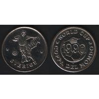 World Cup 1990. Coppa del Mondo -- (Швеция) Sverige (f01)