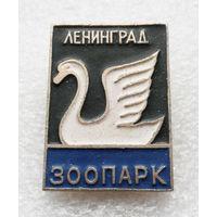 Ленинград. Зоопарк. Лебедь. Животные #0152-UP6