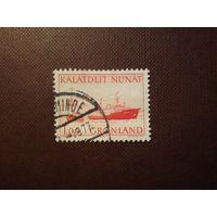 Гренландия 1976 г.Почтовые перевозки.