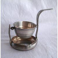 Ситечко чайное на подставке Серебрение