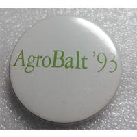 Значок.АгроБалт 93 #0045