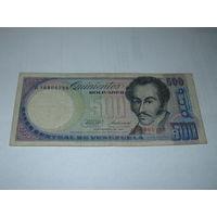 Венесуэла - 500 боливаров - 1981 г.