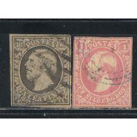 Люксембург Личная уния 1852 Вильгельм III - король Нидерландов, великий герцог Люксембурга Стандарт ВЗ #1-2