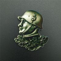 """Акриловый значёк """"Германский солдат рейха"""" . распродажа"""