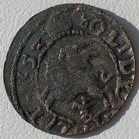 ВКЛ, шеляг (солид) 1653 года, Ян Казимир Ваза (1648-1668), Ag 125/ 0,53 грамма