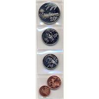Токелау комплект монет (5 шт.) 2012г. (сувенирные монеты).  скидки.