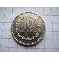 САЛЬВАДОР 10 СЕНТАВО 1998 ГОД