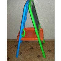 Напольная магнитная доска-мольберт Little artist