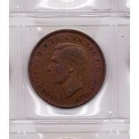 1 пенни 1947 Великобритания. Возможен обмен