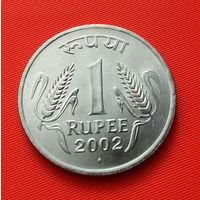 24-05 Индия, 1 рупия 2002 г.