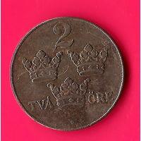 05-25 Швеция, 2 эре 1942 г.