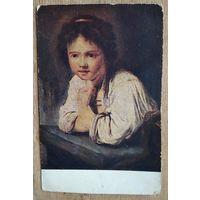 Рейнольдс Д. Девочка у окна. 1930-е. Чистая