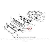 Нижняя накладка решётки радиатора VOLKSWAGEN GOLF II